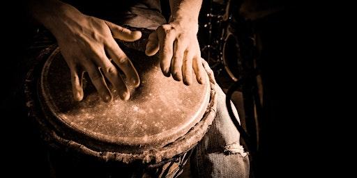Intermediate  Hand Drumming - 6 Week Course