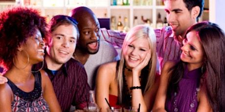 25-40 - Speed friending! No pressure way to make friends! (FREE Drink/Van) tickets