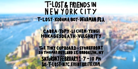 T-Lost & Friends in New York tickets