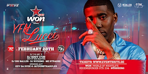 YFN LUCCI  Live On Stage