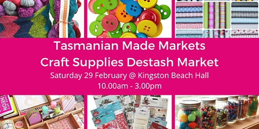 Tasmanian Made Craft Supplies Destash Market