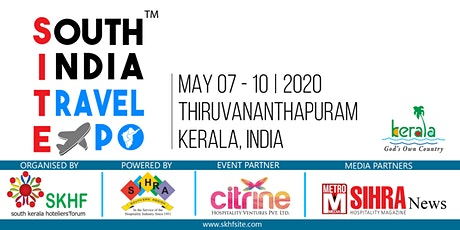 SOUTH INDIA TRAVEL EXPO (SITE 2020) tickets