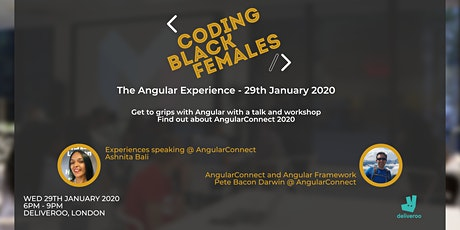 Coding Black Females: The Angular Experience! tickets