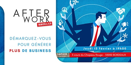 Afterwork Immobilier - Bordeaux - 13 février 2020- tickets