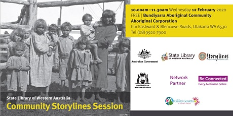 Community Storylines Session - Bundiyarra tickets