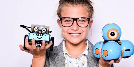 GirlsDay: Kostenlos Roboter programmieren Tickets