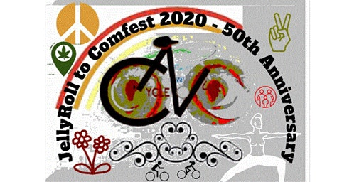 JellyRoll to Comfest 2020 - 5 bikeway miles - Columbus, OH