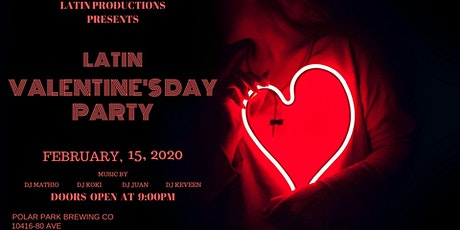 Latin valentine's day party tickets