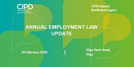 Employment Law Breakfast Briefing - CIPD Ireland Northwest region tickets
