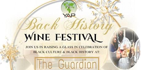Black History Wine Festival tickets