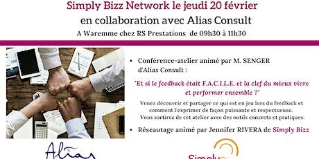 SimplyBizz Network le 20 février à Waremme billets