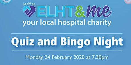 ELHT&Me Quiz and Bingo Night tickets