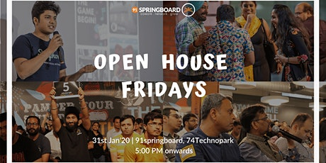 Open House Friday tickets
