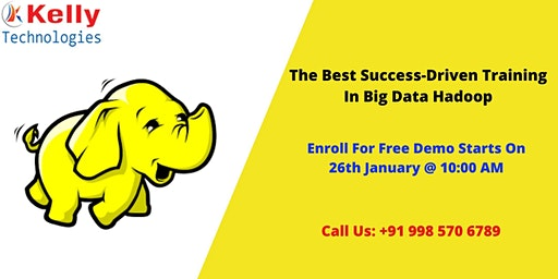 Join Us For Free Hadoop Demo Scheduled On 26th January 10 AM