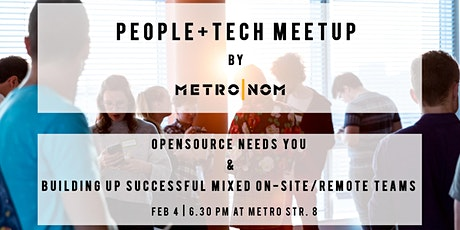 People+Tech Düsseldorf : Opensource & mastering Mixed On-Site/Remote Teams billets