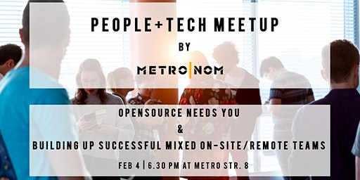 People+Tech Düsseldorf : Opensource & mastering Mixed On-Site/Remote Teams