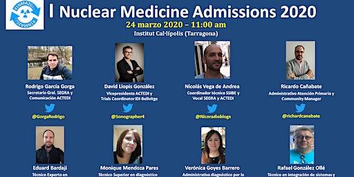 I Nuclear Medicine Admissions 2020 #1NMA2020