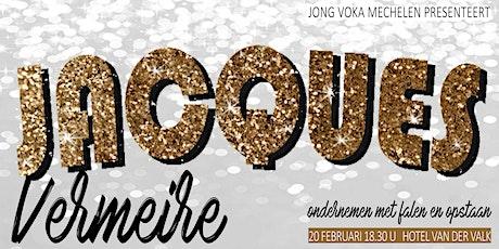 Jacques Vermeire: Ondernemen met falen en opstaan | by Jong Voka Mechelen tickets