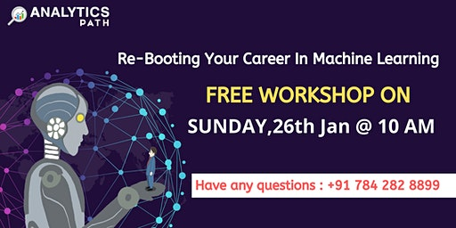 Free Interactive Session On Machine Learning, 26th Jan @ 10:00 AM