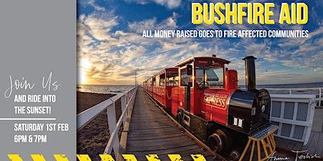 Bushfire Aid Jetty Train Fundraiser - 6PM tickets