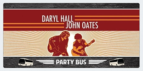Hall & Oates Party Bus to Shoreline Amphitheater tickets