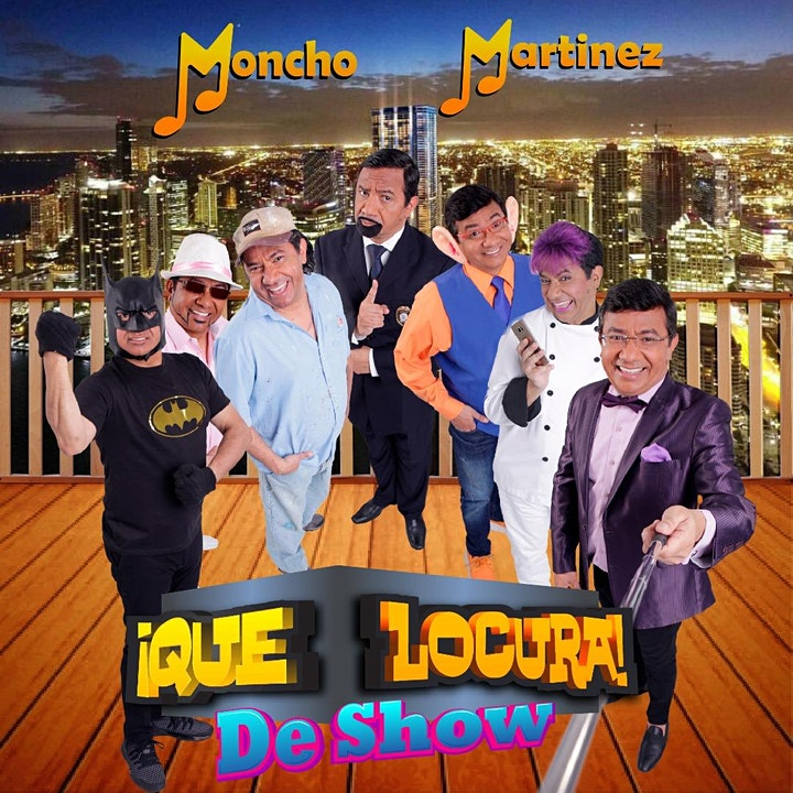 "Imagen de Moncho Martínez ""Que Locura de Show Barcelona"""