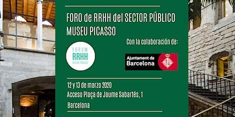 Foro de RRHH del Sector Público Museu Picasso entradas