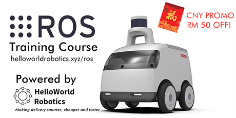 2-day Intensive ROS Training Course for Beginners(LAST DAY TO GET A SPECIAL OFFER) tickets