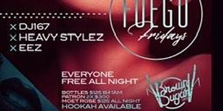 Everyone Free All Night,Bottle Specials,Hookah,Tonight At Brown Sugar tickets