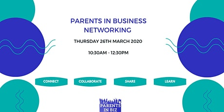 Parents in Business Networking tickets