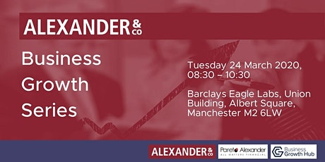 Alexander & Co Business Growth Series tickets