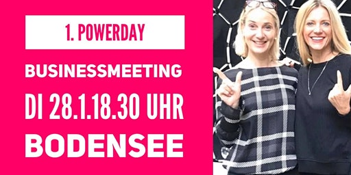 1. Powerday Business-Meeting  BODENSEE 28.01.2020