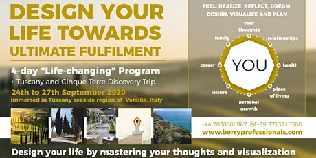 Design Your Life Towards Ultimate fulfillment biglietti