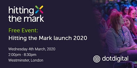 Hitting the Mark Launch 2020 tickets