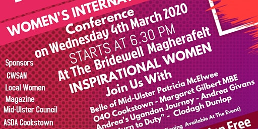 International Women's Day Conference - Inspirational Women