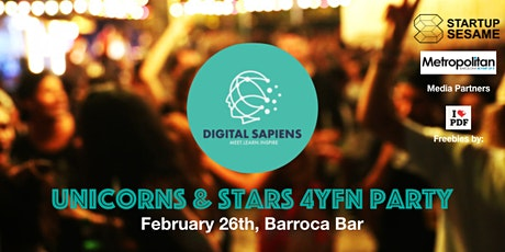 Digital Sapiens Unicorns & Stars 4YFN Party entradas
