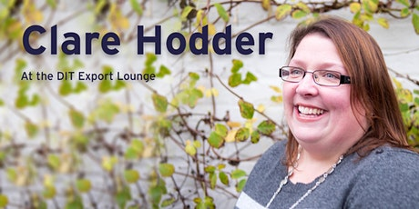 Clare Hodder at the DIT Export Lounge tickets