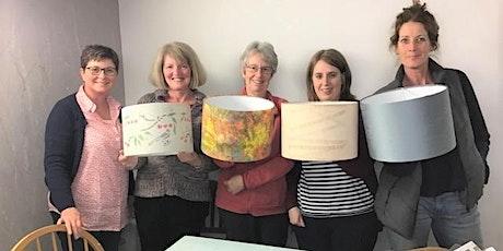 Make a drum lampshade workshop tickets