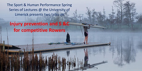 Injury prevention & S and C for competitive Rowers tickets