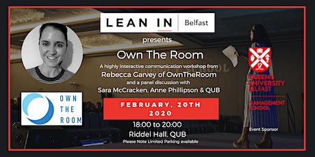 Own The Room - Becoming a confident and compelling speaker tickets