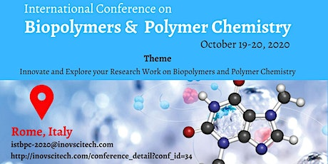 International Conference on Biopolymers and Polymer Chemistry biglietti