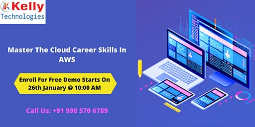Join Us For Free AWS Demo Session Scheduled On 26th January 10 AM