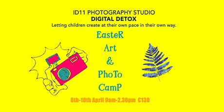 Easter Art & Photo Camp tickets