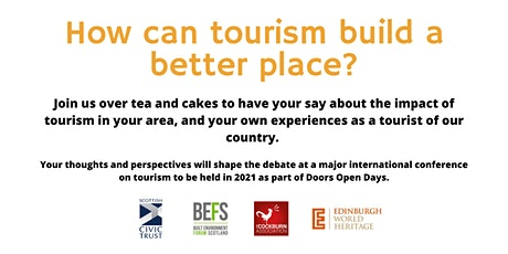 How can tourism build a better place? (Shetland) tickets