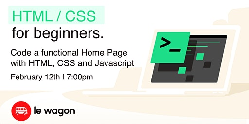 Code a Functional Home Page with HTML, CSS and Javascript