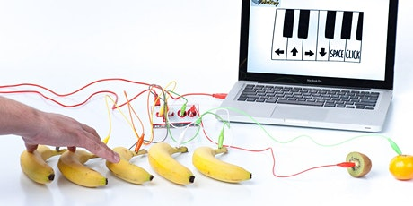MakeyMakey and TinkerKit ~ an introduction (Lancaster) #stem tickets