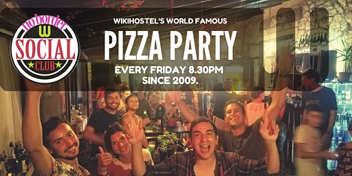 World Famous PizzaParty! Intercultural Social Kitchen since 2009!