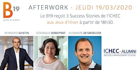 Le B19 reçoit les Success Stories de l'ICHEC. billets