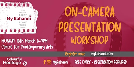 On-Camera Presentation Workshop tickets