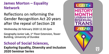 Reflections on reforming the Gender Recognition Act 20 years after the repeal of Section 28 tickets